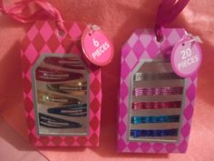 Kids Colored Hair Clips