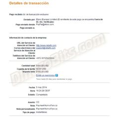 Ganar dinero con inversiones: Primer pago recibido de eToro. Ganar dinero con Forex: http://dinerobits.com/etoro/