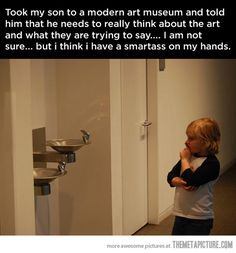 Well played, kid,  well  played