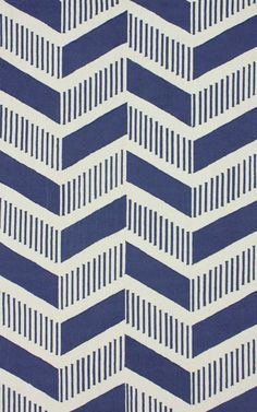 Rugs USA Homespun Medea Chevron Blue Rug Item #: 200HJHK57A-P  $300 - $732 + FREE SHIPPING Use coupon ESMA50 to save 50% on this item