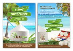 Gutschein f眉r Kokos-Onlineshop by wakatdesign