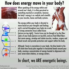 How does Energy move in your body? In #SHEN therapy, the blue bands in this chart depict the interface between to emotion centers and are part of the protocol for Qi applied unlocking flows. Repinned from http://www.medischeqigong.com  #energy