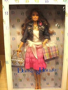 Dooney & Bourke Barbie Doll At Toy Fair 2006