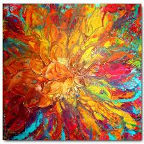 Original XXL Flower Art by Caroline Ashwood- Textured and contemporary abstract painting on canvas - Contemporary Abstract Art, Abstract Wall Art, Modern Art, Abstract Paintings, Art Paintings, Art Original, Artist Gallery, Abstract Flowers, Oeuvre D'art