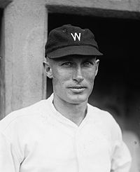 Sam Rice - elected to National Baseball Hall of Fame in 1963