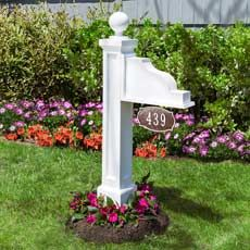 How To Build An Address Plaque Post