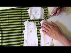 How To Cut Out The T-Shirt Pattern - With Melinda from Liberty Jane American Doll Clothes, Ag Doll Clothes, Doll Clothes Patterns, Doll Patterns, Sewing Patterns Girls, Sewing For Kids, American Girl Diy, Girl Dolls, Ag Dolls