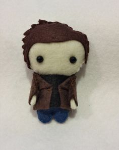 Dean Winchester Supernatural Pocket Plush Doll by WordsToSewBy