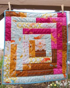 Cabin by the Sea mini quilt