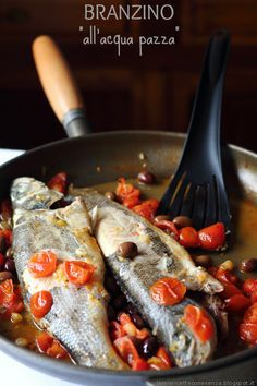 Baked Whole Fish, Fish Recipes, Seafood, Spaghetti, Food And Drink, More, Chicken, Baking, Eat