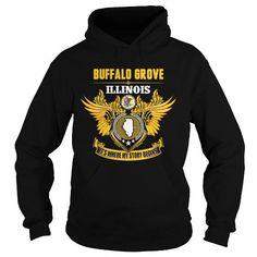 I Love  BUFFALO GROVE-ILLINOIS STORY14 1510 T shirts