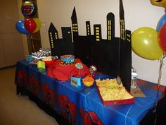 Supercute Superhero Party