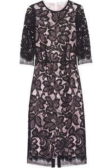 TOME Lace and lamé dress | NET-A-PORTER