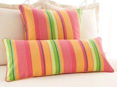 July Stripe Decorative Pillow | Pine Cone Hill