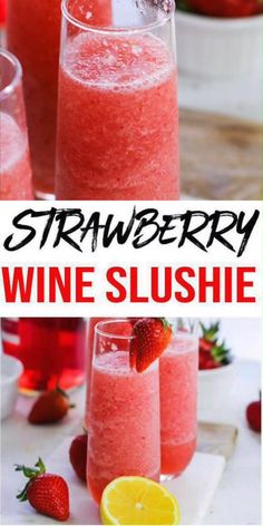 Easy Wine Slushie – How To Make Quick and Healthy Strawberry Alcohol Wine Slushies Frose Recipe! Easy Wine Slushie – How To Make Quick and Healthy Strawberry Alcohol Wine Slushies,KimspiredDIY Wine Slushie! Easy Alcoholic Drinks, Alcholic Drinks, Yummy Drinks, Slushy Alcohol Drinks, Vodka Frozen Drinks, Cocktails Vin, Liquor Drinks, Drink Wine, Bbq Drinks