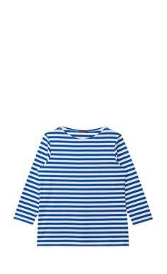 Ilma -paita - valkoinen, sininen - Paidat - Vaatteet - Marimekko.com