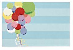 Balloons Invitation, Pack of 20 on OneKingsLane.com
