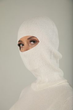 Knitted Balaclava, Baby Shampoo, 2 Ply, Colourful Outfits, Chrochet, Rib Knit, Skiing, Cashmere, Winter Hats