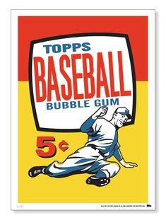 1957 Topps baseball card wrapper