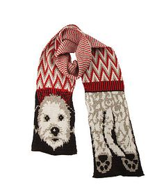 This cozy fun Dog Scarf ($30) is made from recycled cotton.