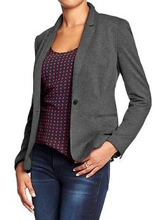 Women's Classic Blazers | Old Navy [I could really use a couple blazers that aren't black]