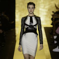 Herve Leger by Max Azria Fall 2015