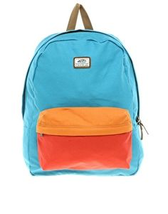Colorblocked backpack