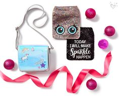 Sparkle everyday. Justice Bags, Justice Stuff, Baby Doll Nursery, Baby Doll Toys, Diy For Girls, Girls Be Like, Cute Purses, Purses And Bags, Girls Nail Designs