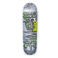 Fresh out the tomb, the Creature Catacombs LG Skateboard Deck is a death-defying monster. The Catacombs puts it's mark on everything from half-pipes to that parking lot pole jam at 7/11. The deck comb