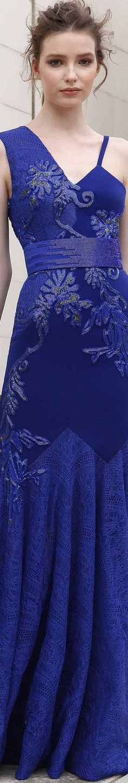Basil Soda Spring-Summer 2018 RTW Pretty Dresses, Blue Dresses, Formal Dresses, Blue Fashion, Spring Fashion, Basil Soda, Azzaro, Haute Couture Fashion, Balmain