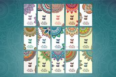 15 Business card in ethnic style - Business Cards