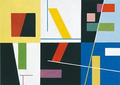 Sophie Taeuber-Arp, was a Swiss artist, painter, sculptor, and dancer. She is considered one of the most important artists of geometric abstraction of the 20th.
