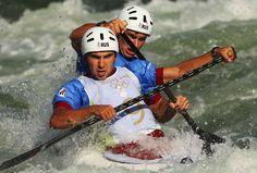 Kayak lessons on white water!  Oooo fun!