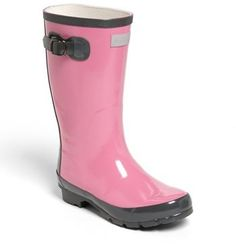 Hatley 'Orchid Lily' Rain Boot (Toddler & Little Kid)