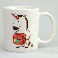 New Cheap Cute Rainbow Unicorn White Mug Tea Coffee Cup #Unbranded #Modern #Cheap #New #Best #Seller #Design #Custom #Gift #Birthday #Anniversary #Friend #Graduation #Family #Hot #Limited #Elegant #Luxury #Sport #Special #Hot #Rare #Cool #Top #Famous
