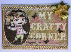 Yumi card handmade by Team Yumi Cebelica