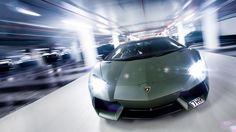 Military Green Lamborghini Aventador