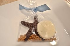 Star Fish and Sand Dollar Favor  Beach Favor  by thesugaredshop, $1.75