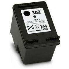 Náplň HP 302XL - černá kompatibilní F6U68AE - 480 stran | MojeNáplně.cz Black, Black People