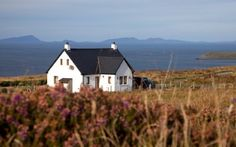 The view over the Cottage at Tir Nan Og, Dunhallin, a sumptuous holiday home for two on the Waternish Peninsula, Isle of Skye.