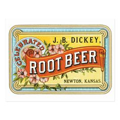 Vintage Tins, Vintage Labels, Newton Kansas, Eames, Vintage Beer Signs, Diner Sign, Beer Bar, Beer Label, Root Beer