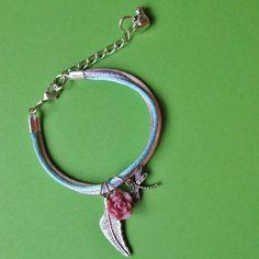 Pretty Pastel Friendship Bracelet (Various Colours) from Abilu Creations