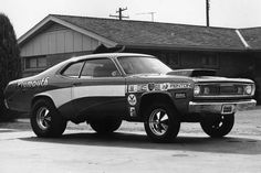 Vintage Drag Racing - Plymouth Duster