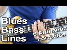 Blues Bass Lines: 6 Authentic Formulas That Work Every Time Music Theory Guitar, Music Guitar, Playing Guitar, Guitar Tabs, Guitar Logo, Learning Guitar, Guitar Tattoo, Bass Guitar Straps, Guitar Scales