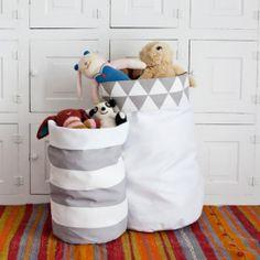 Как сшить корзину для игрушек