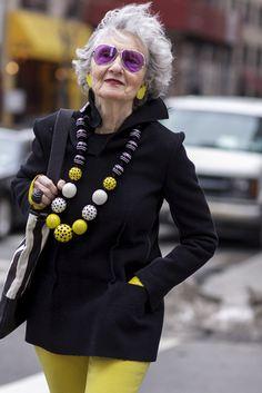 NYFW street style; Liz Friedman on Madison Avenue