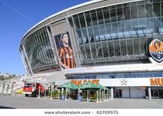 Soccer stadium in Donetsk