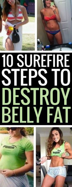 10 surprising tricks to lose belly fat and inches.