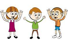 Vector Cartoon Children Graphics