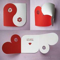 Postal coração
